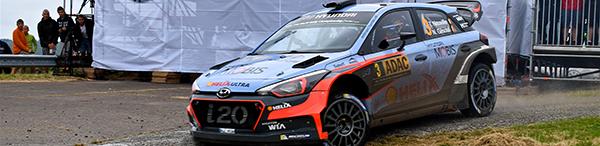 Neuville/Gilsoul Hyundai I20 WRC ADAC Rallye Deutschland 2016 ES : Panzerplatte Arena